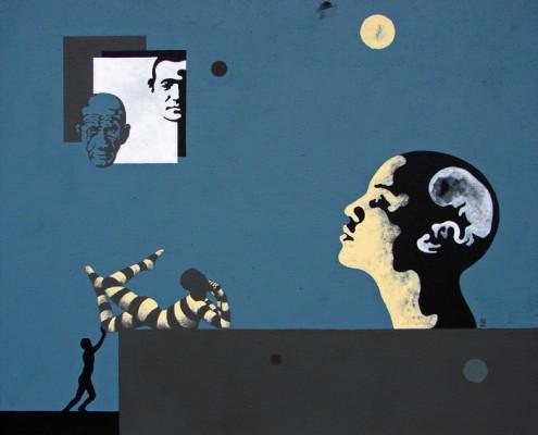 Marcin Zalewski acrylic on canvas